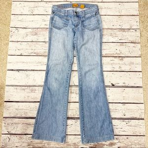 James Jeans Light Denim Flared Leg Super Soft 28
